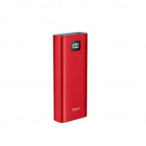 Power Bank Hoco J46 Star Ocean 10000mAh Type-C, Micro USB & Lightning Input και 2 USB Output Fast Charging και ένδειξη LED Κόκκινο 6931474711731
