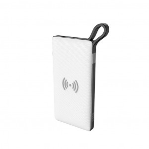 Power Bank Hoco S10 Ασύρματης Φόρτισης (10000mAh) Λευκό 6931474715142