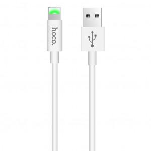 Καλώδιο Σύνδεσης Hoco X43 Satellite USB σε Lightning Fast Charging Λεύκο 1μ 6931474719577