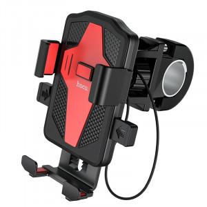 Βάση Στήριξης Ποδηλάτου Hoco CA73 Flying για Smartphone 4.5-7 Μαύρη-Κόκκινη 6931474731753