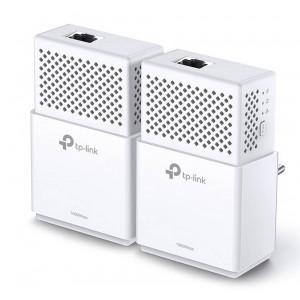 Powerline TP-Link AV1000 Gigabit TL-PA7010KIT 1000 Mbps Σέτ 2 Τεμαχίων HomePlug AV2 v1.0 6935364099220