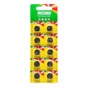 Buttoncell Motoma LR44 AG13 Pcs. 10 6935609935030