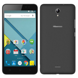 Hisense F20 4G LTE (Dual SIM) 5.5 Android 5.1 1280*720 IPS Quad-Core 1 GHz 1GB/8GB Μαύρο 6941785706647
