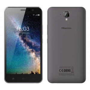 Hisense F22 4G LTE (Dual SIM) 5.5 Android 7.0 1280*720 IPS HD Quad-Core 64bit 1.25 GHz 1GB/8GB Μαύρο 6941785707941