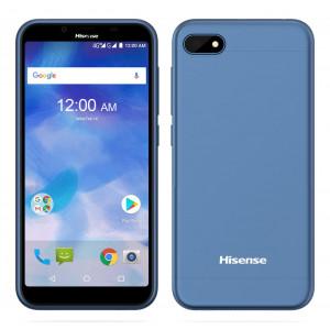 Hisense F17 3G (Dual SIM) 5.5 HD 18:9 Android 7.1 1280*640 IPS Quad-Core 1.3 GHz 1GB/16GB Μπλε 6941785710767