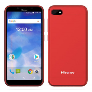 Hisense F17 3G (Dual SIM) 5.5 HD 18:9 Android 7.1 1280*640 IPS Quad-Core 1.3 GHz 1GB/16GB Κόκκινο 6941785710774