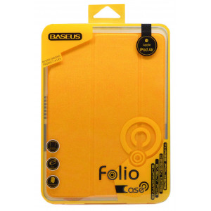 Smart Case Baseus Folio for Apple iPad Air Yellow 6953156224568