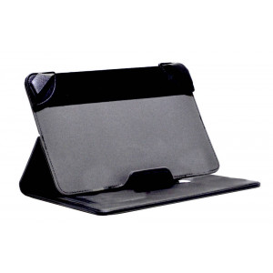 Book Case Lamborghini Universal for Tablet 7 - 8 Inches Black Leather (21 cm x 13 cm) 6955250279215