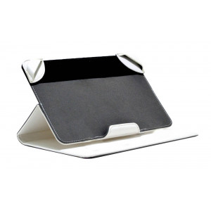 Book Case Lamborghini Universal for Tablet 7 - 8 Inches White Leather (21 cm x 13 cm) 6955250279291