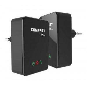 Powerline Adapter Comfast CF-WP200M 200 Mbps Set 2 Pieces 6955410010740