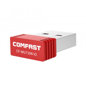 Wireless USB Adapter Comfast CF-WU710N v2.0 150 Mbps 6955410013710