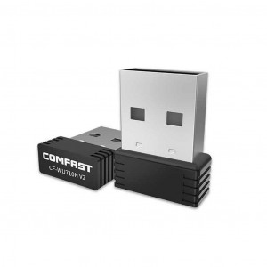 Wireless Mini USB Adapter Comfast CF-WU710N v2.0 150 Mbps 6955410014717