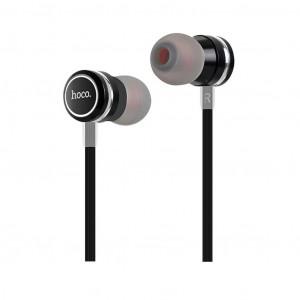 Hands Free Hoco M16 Ling Sound Earphones Stereo 3.5mm Μαύρα με Μικρόφωνο και Πλήκτρο Λειτουργίας 6957531051701