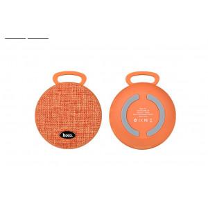 Φορητό Ηχείο Bluetooth Hoco BS7 Πορτοκαλί, υποστηρίζει T-Flash Card και AUX Input 6957531052180