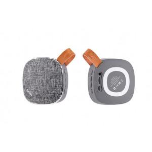 Φορητό Ηχείο Bluetooth Hoco BS9 Γκρι, υποστηρίζει T-Flash Card και AUX Input 6957531054160