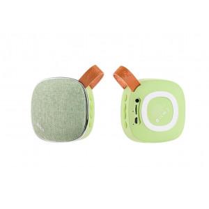 Φορητό Ηχείο Bluetooth Hoco BS9 Πράσινο, υποστηρίζει T-Flash Card και AUX Input 6957531054177