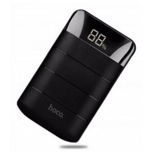 Power Bank Hoco B29 Domon 10000 mAh με 2 USB Θύρες Μαύρο 6957531055532