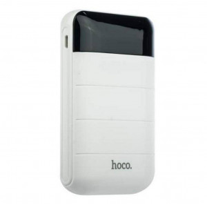 Power Bank Hoco B29 Domon 10000 mAh με 2 USB Θύρες Λευκό 6957531055549