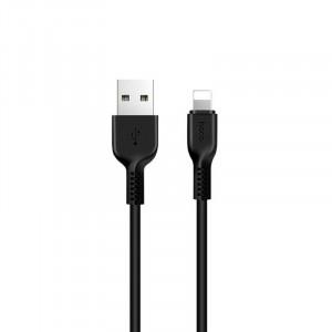 Καλώδιο σύνδεσης Hoco X20 Flash USB σε Lightning 2.0A Μαύρο 1μ. 6957531068808
