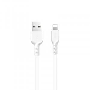 Καλώδιο σύνδεσης Hoco X20 Flash USB σε Lightning 2.0A Λευκό 1μ. 6957531068815