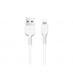 Καλώδιο σύνδεσης Hoco X20 Flash USB σε Lightning Λευκό 2μ. 6957531068877