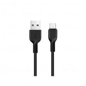 Καλώδιο σύνδεσης Hoco X20 Flash USB σε Type-C Μαύρο 2m 6957531068907