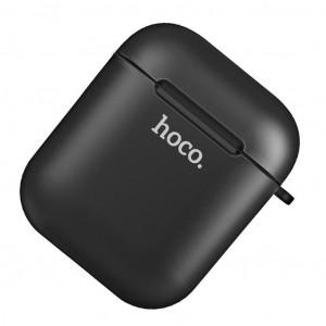 Θήκη Hoco Soft Case Wireless TPU για Airpods Μαύρη 6957531080633
