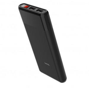 Power Bank Hoco B35C Entourage Mobile 12000 mAh Fast Charging με υποδοχή Micro-USB και 2 Θύρες USB Μαύρο 6957531084716