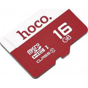 Κάρτα Μνήμης Hoco MicroSDHC 16GB Class 10 6957531085799