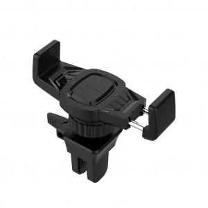 Βάση Στήριξης Αεραγωγού Αυτοκινήτου Hoco CA38 Platinum Sharp Μαύρη 6957531086338