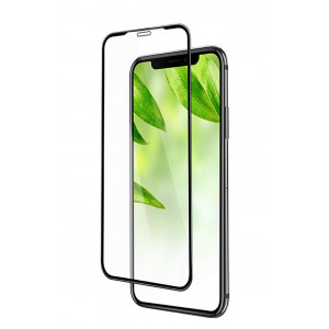Tempered Glass Hoco Shatterproof Edges Full Screen HD 9H για Apple iPhone XS Max Μαύρο 6957531088042