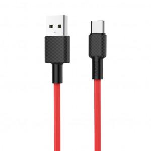 Καλώδιο σύνδεσης Hoco X29 Superior Style USB σε Type-C Fast Charging 2A Κόκκινο 1μ 6957531089780