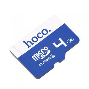 Κάρτα Μνήμης Hoco MicroSDHC 4GB Class 6 6957531090359