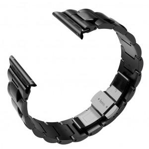 Watchband Hoco WB03 Grand 38/40mm από ανοξείδωτο ατσάλι για Apple Watch series 4/3/2/1 Μαύρο 6957531092964