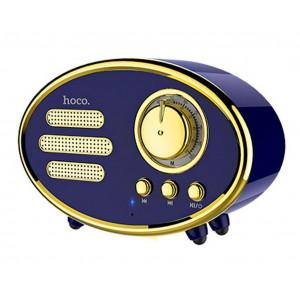 Φορητό Ηχείο Bluetooth Hoco BS25 Time Μπλε 1200mAh, 1x5W, TF Card και AUX Input 6957531093206