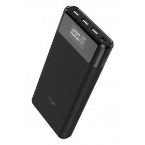 Power Bank Hoco B35E Entourage Mobile 30000 mAh Fast Charging για Micro-USB και Type-C και 3 εξόδους USB 37W Μαύρο 6957531095149