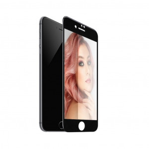 Tempered Glass Hoco Mirror 3D Full Screen Protection για Apple iPhone 7 / 8 Μαύρο 6957531099666