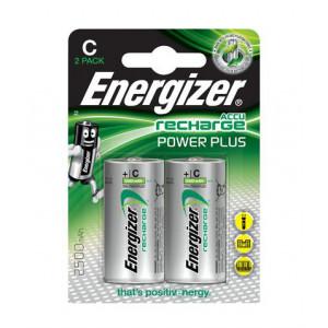 Μπαταρία Επαναφορτιζόμενη Energizer ACCU Recharge Power Plus HR14 2500 mAh size C 1.2V Τεμ. 2 7638900138740