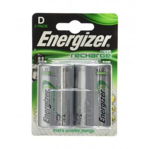 Μπαταρία Επαναφορτιζόμενη Energizer ACCU Recharge Power Plus HR20 2500 mAh size D 1.2V Τεμ. 2 7638900138757