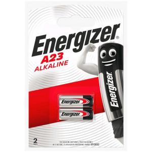 Μπαταρία Αλκαλική Energizer A23/23A/23GA/A23/E23A/GP23A/K23A/L1028/LR23A/LRV08/LRVO8/MN21/MS21/V23/V23GA/VR22 12V Τεμ. 2 7638900295641