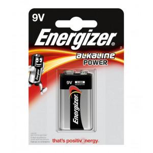 Μπαταρία Power Alkaline Energizer 6LR61 size 9V Τεμ. 1 7638900297409