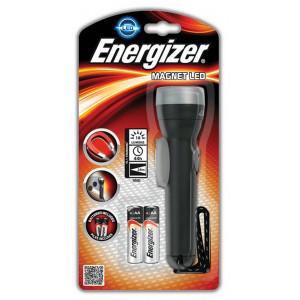 Φακός Energizer Magnet Led 1 Led 18 Lumens με Μπαταρίες AA 2 Τεμ. Μαύρο 7638900315240
