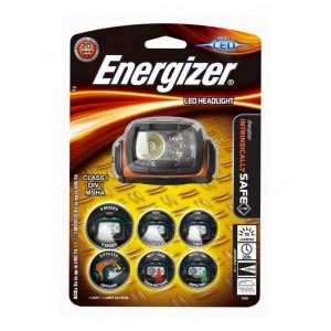 Φακός Κεφαλής Energizer ATEX Led 75 Lumens με Μπαταρίες AA 3 Τεμ. Πορτοκαλί 7638900320268