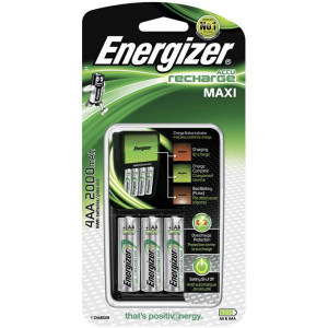 Φορτιστής Μπαταριών Energizer για AA/AAA με 4 ΑΑ 2000mAh Μπαταρίες 7638900321401