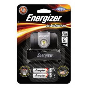 Φακός Κεφαλής Energizer 1 Led 43 Lumens με Μπαταρίες AAA 2 Τεμ. Μαύρος 7638900368062