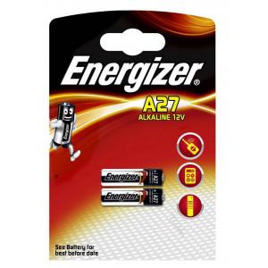 Μπαταρία Αλκαλική Energizer A27/L828/MN27/EL812/CA22/LR27/E27A/L728/K27A 12V Τεμ. 2 7638900393330