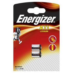 Μπαταρία Lithium Energizer Α11 6V Τεμ. 2 7638900394498