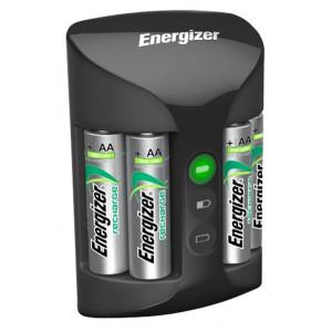 Φορτιστής Μπαταριών Energizer ACCU Recharge PRO για AA/AAA με 4 ΑΑ 2000mAh Μπαταρίες 7638900398373