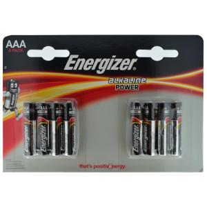 Μπαταρία Αλκαλική Energizer Alkaline Power LR03 size AAA 1.5V Τεμ. 8 7638900410662