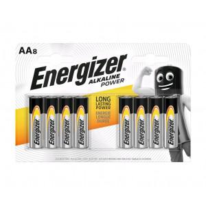 Μπαταρία Αλκαλική Energizer Alkaline Power LR6 size AA 1.5V Τεμ. 8 7638900410686